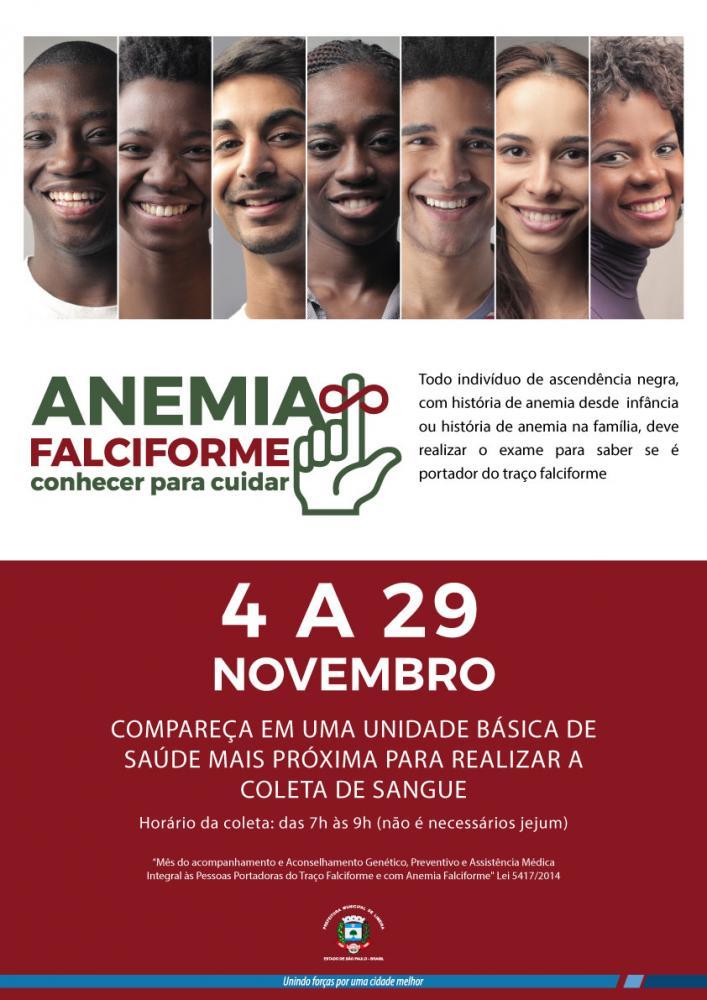 Anemia falciforme é tema de campanha da Prefeitura de Limeira