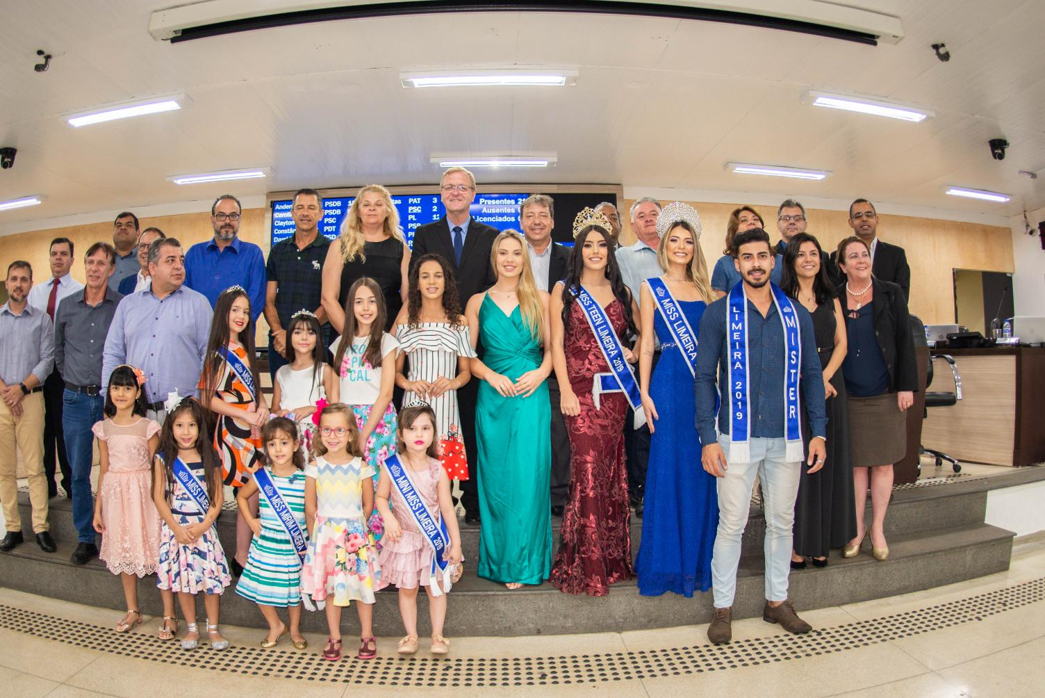 Vencedores do Miss e Mister Limeira 2019