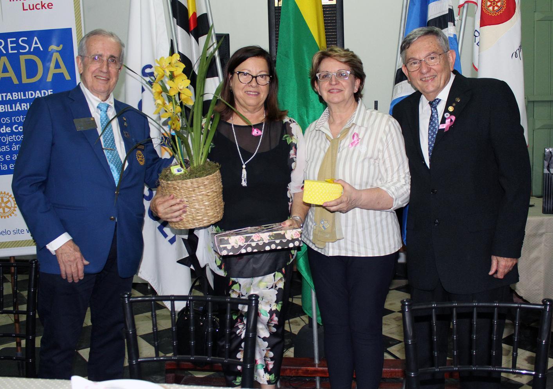 Rotary Cordeirópolis recebe visita do Governador, faz doação e certifica Empresa Cidadã