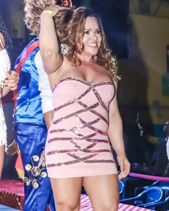 Rainha de Bateria Bicampeã Andréa Capitulino comemora duplo reinado no Carnaval 2020