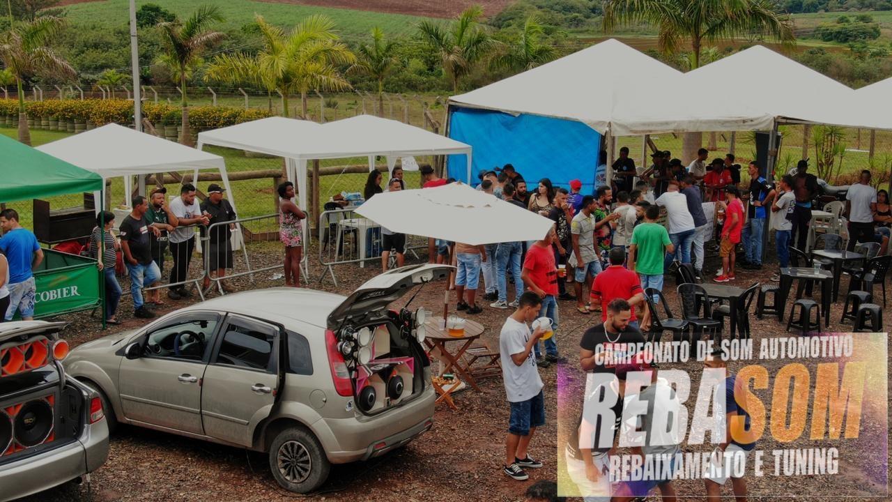 Campeonato de som automotivo e carros rebaixados agita o domingo em Cordeirópolis