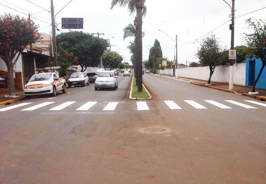 Prefeitura fará a manutenção de oito mil metros nas sinalizações de trânsito em Cordeirópolis