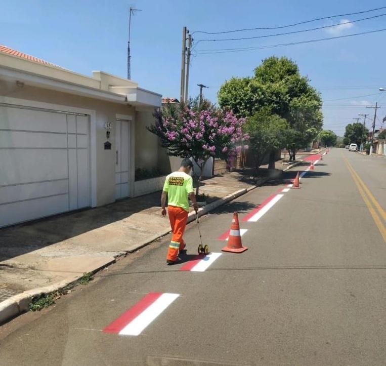 A manutenção na sinalização de trânsito em Cordeirópolis não para!