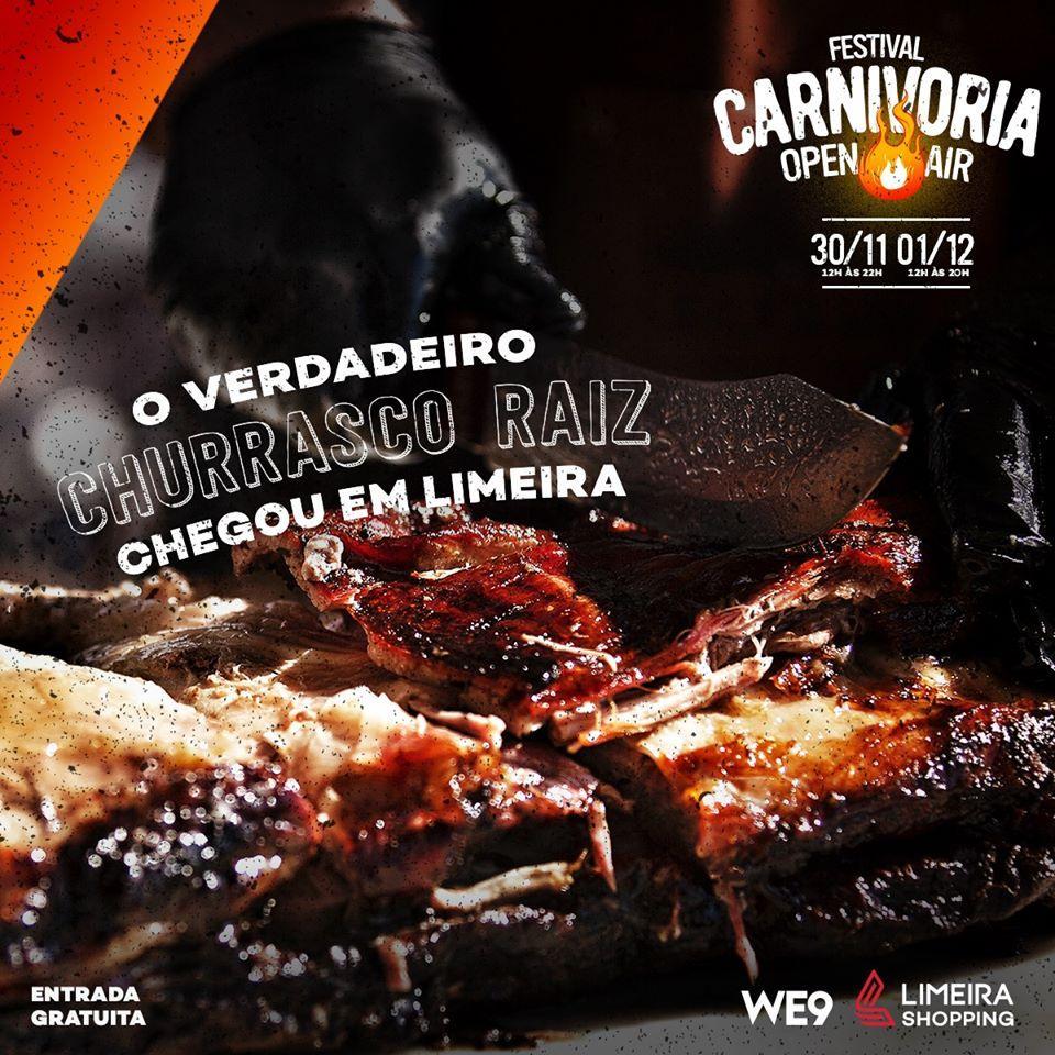 Festival de churrasco no Limeira Shopping terá 6 bandas