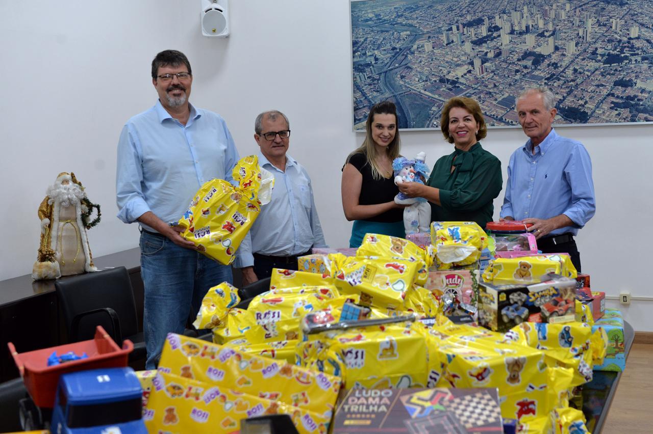 Brinquedos arrecadados com evento é destinado a Fundo Social de Limeira