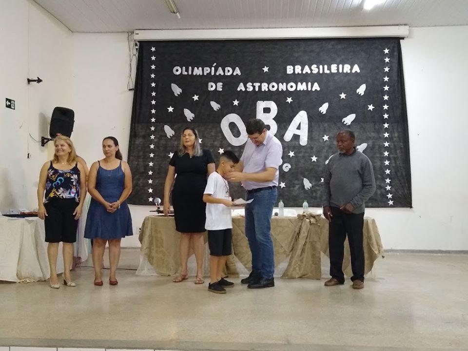 Mais de 70 alunos recebem medalhas da Olimpíada Brasileira de Astronomia e Astronáutica