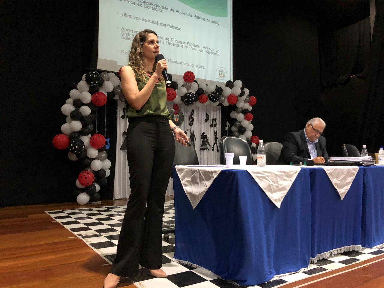 Audiência pública em Limeira discute PPP para o serviço de lixo