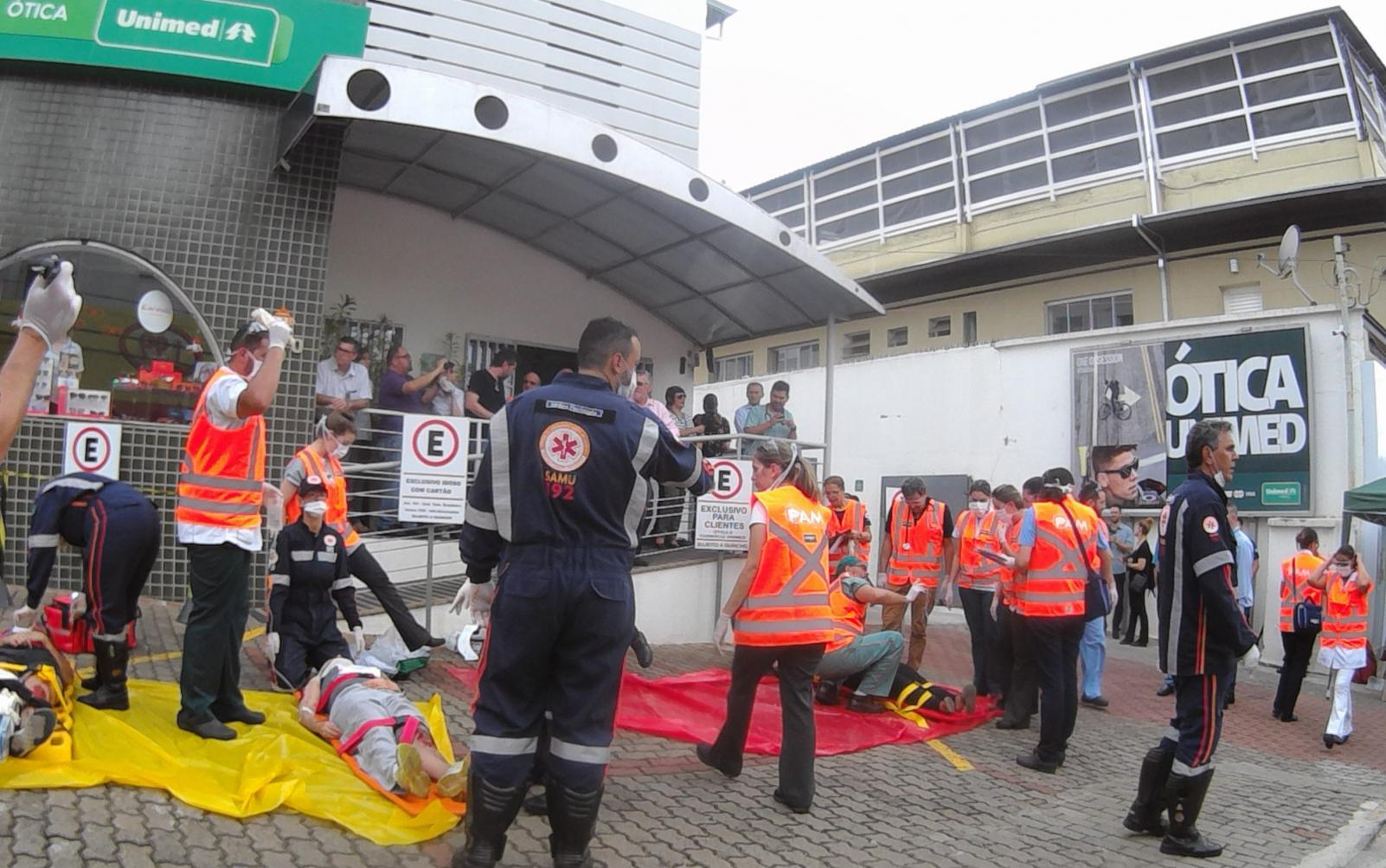 Simulação do PAM é realizado no Hospital Unimed Limeira