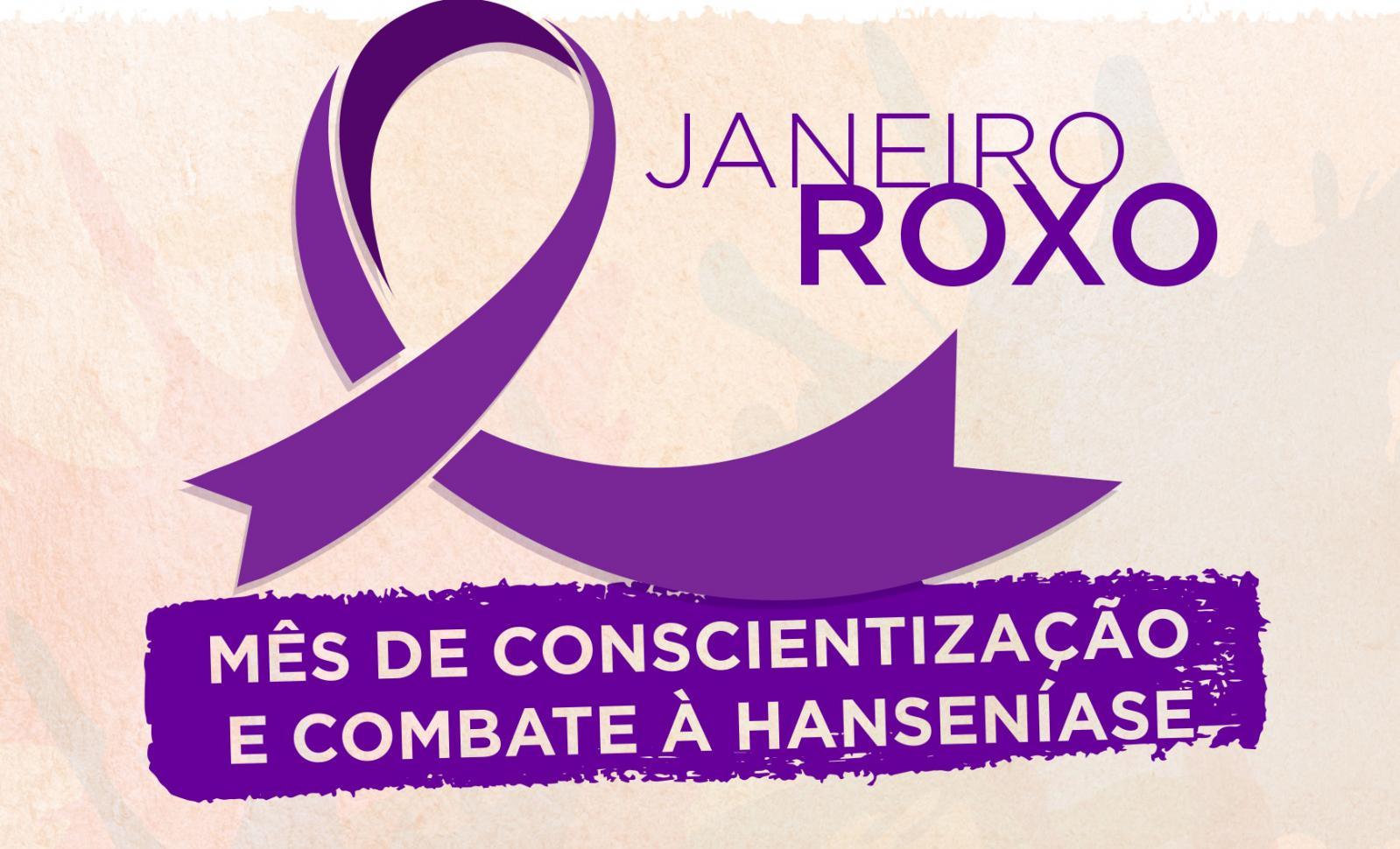 Janeiro Roxo é o mês de conscientização sobre a hanseníase