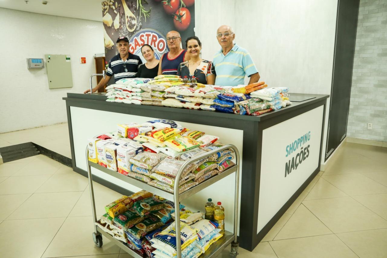 Gastrô Nações faz doação para entidades limeirenses