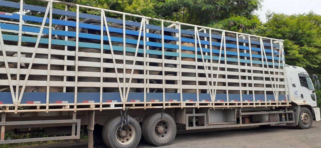 Prefeitura de Cordeirópolis realiza coleta de pneus e lixo eletrônico