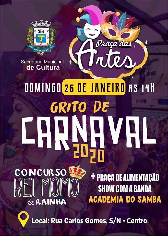 Prefeitura inicia preparativos para o carnaval 2020 em Cordeirópolis