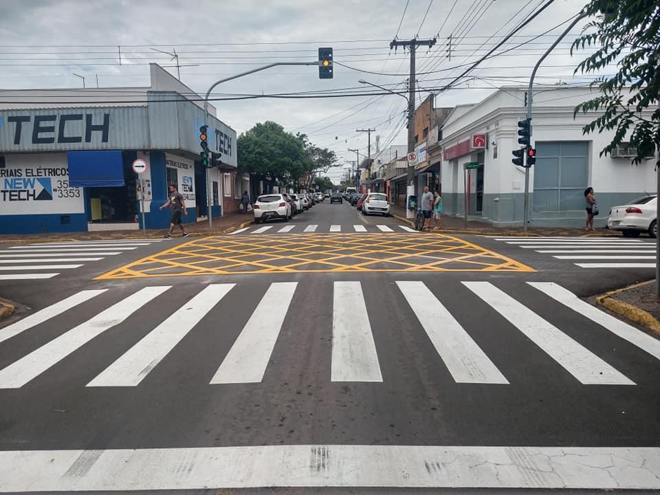 Manutenção na sinalização de trânsito continuará em 2020 em Cordeirópolis
