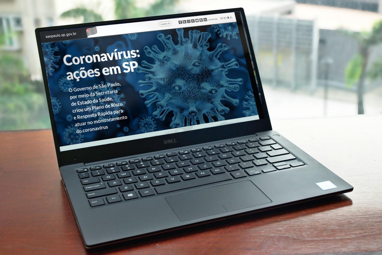 Governo de SP cria site para orientar população sobre o coronavírus