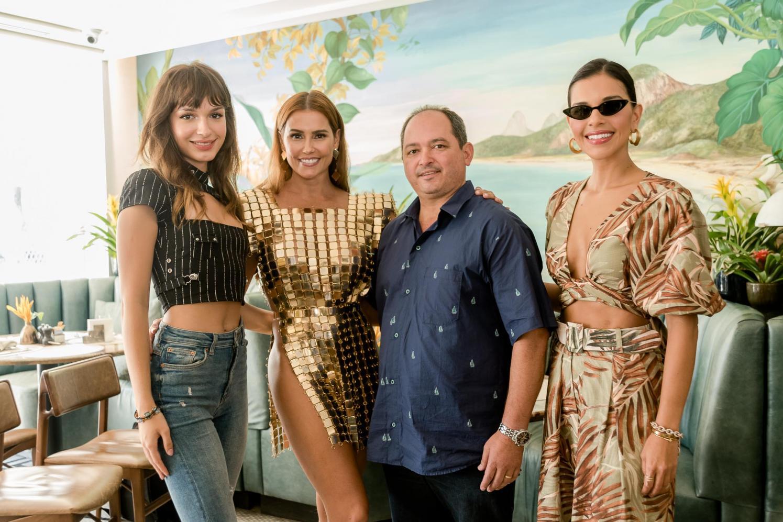 Camarote Allegria apresenta Deborah Secco, Mariana Rios e Gabrielle Joie no Copacabana Palace