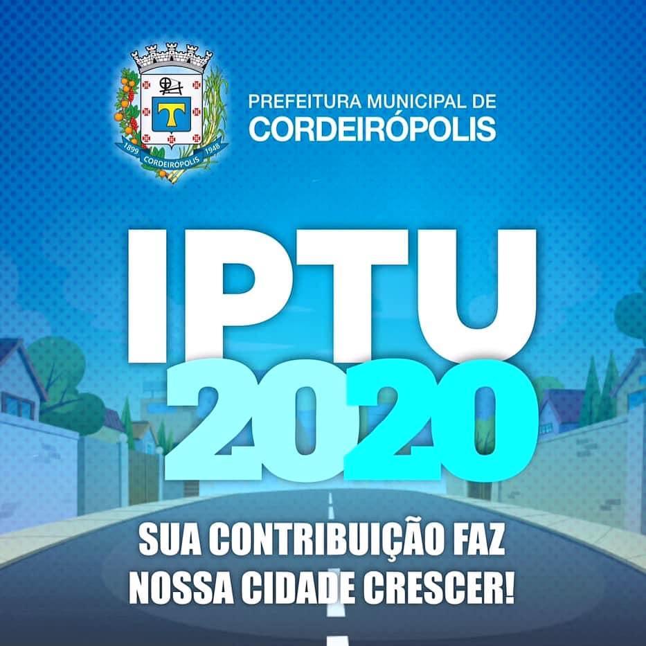 Carnês do IPTU já estão sendo distribuídos à população com prorrogação para dia 28 de fevereiro