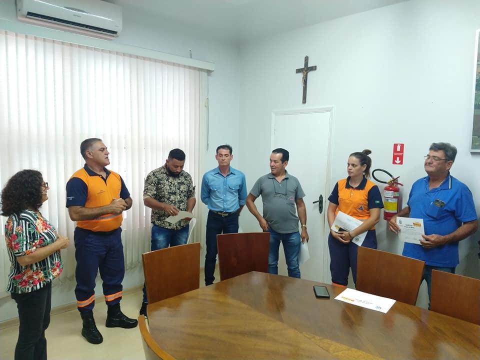 Defesa Civil recebe diploma de Honra ao mérito em Cordeirópolis
