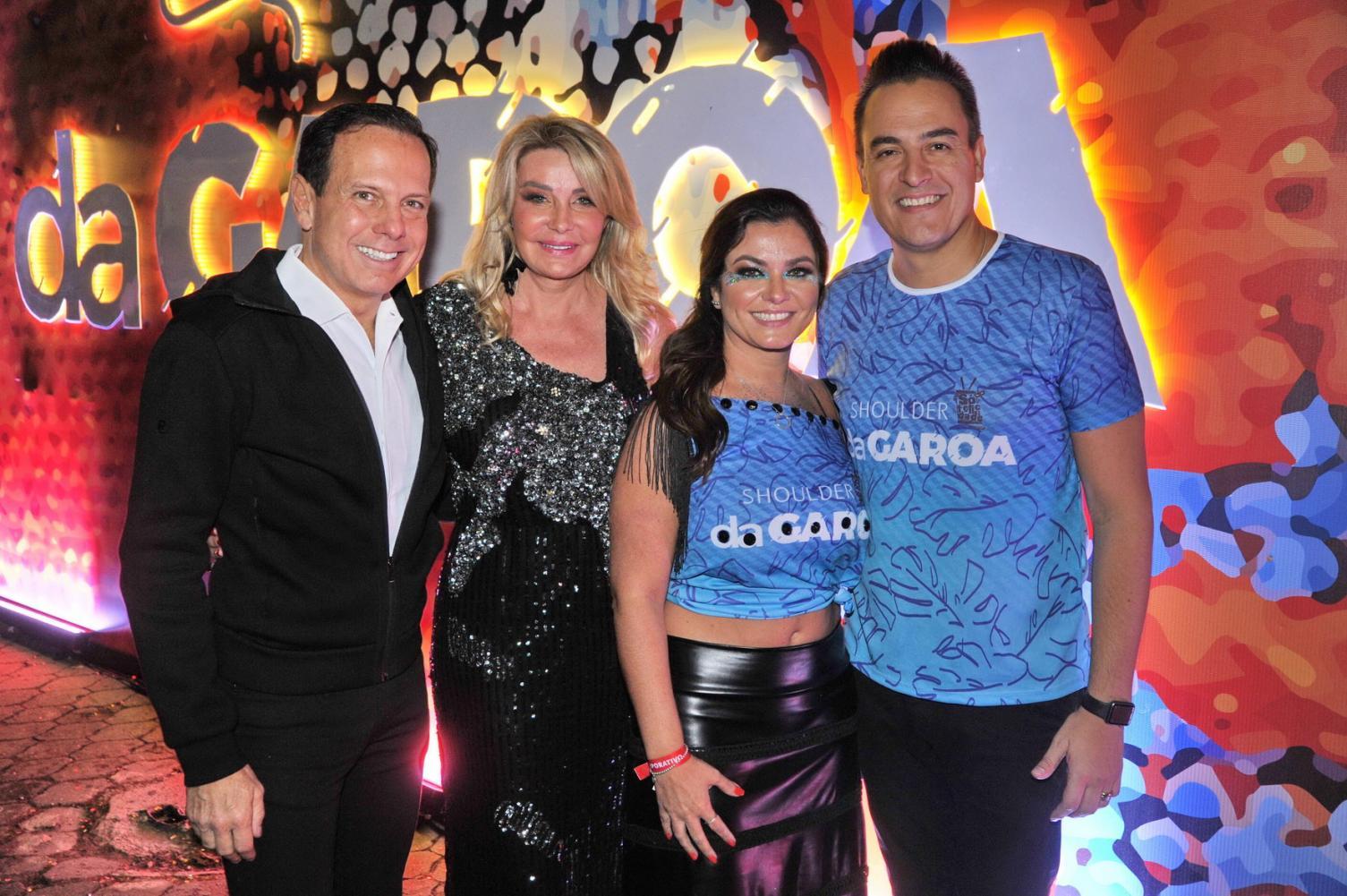 Camarote DaGaroa recebe governador João Doria e personalidades em sua segunda noite de evento
