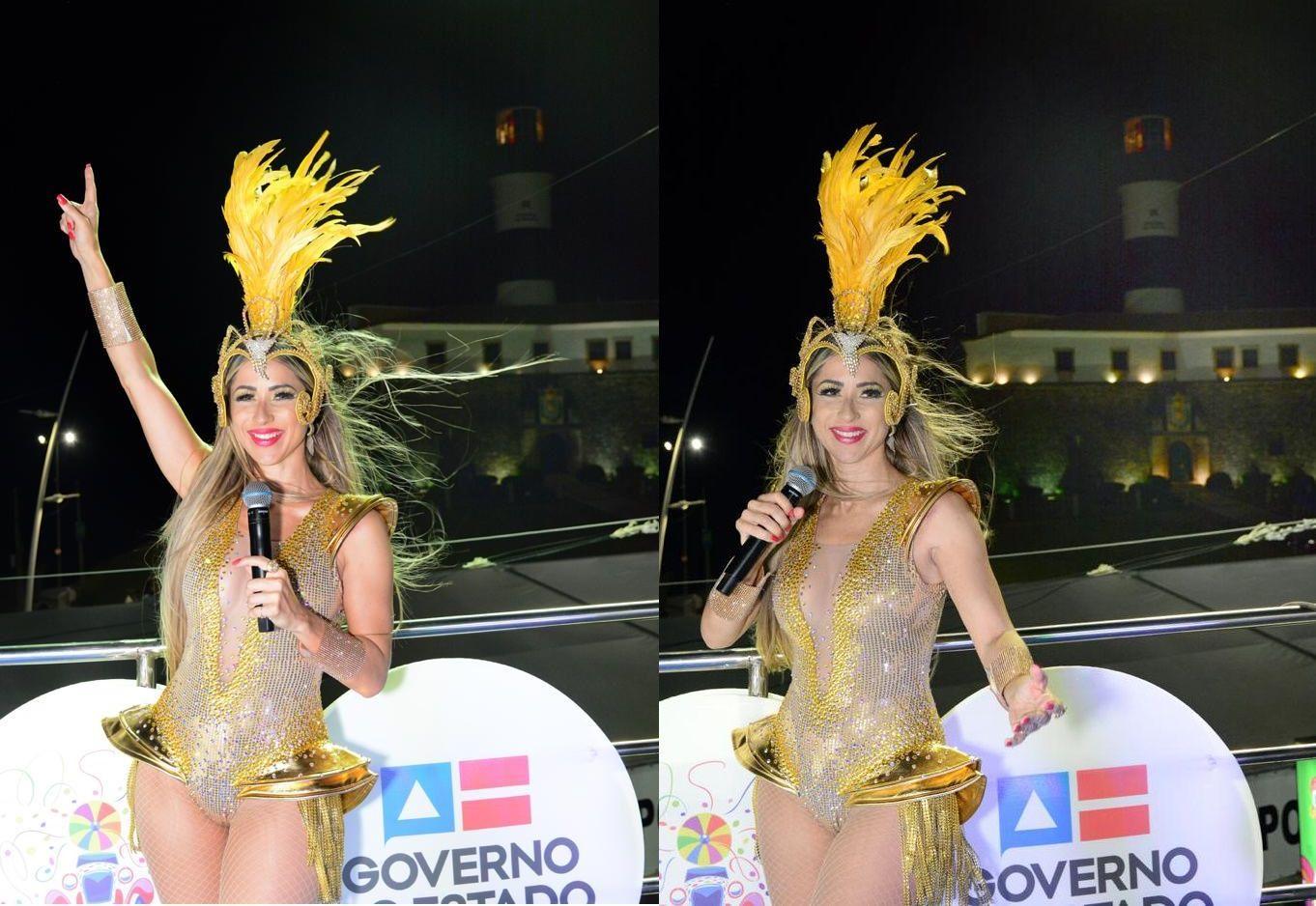 Luana Monalisa se destaca no último dia do carnaval em Salvador e fala do amor de Deus