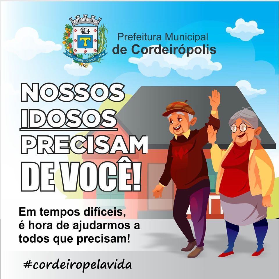 #CordeiroPelaVida: Cuidar dos idosos durante a pandemia do novo #coronavírus: necessidade e exercício de cidadania