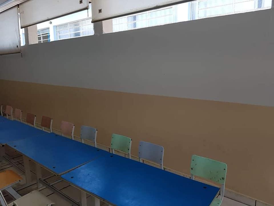 Pinturas, manutenções e reparos nas escolas continuam em Cordeirópolis