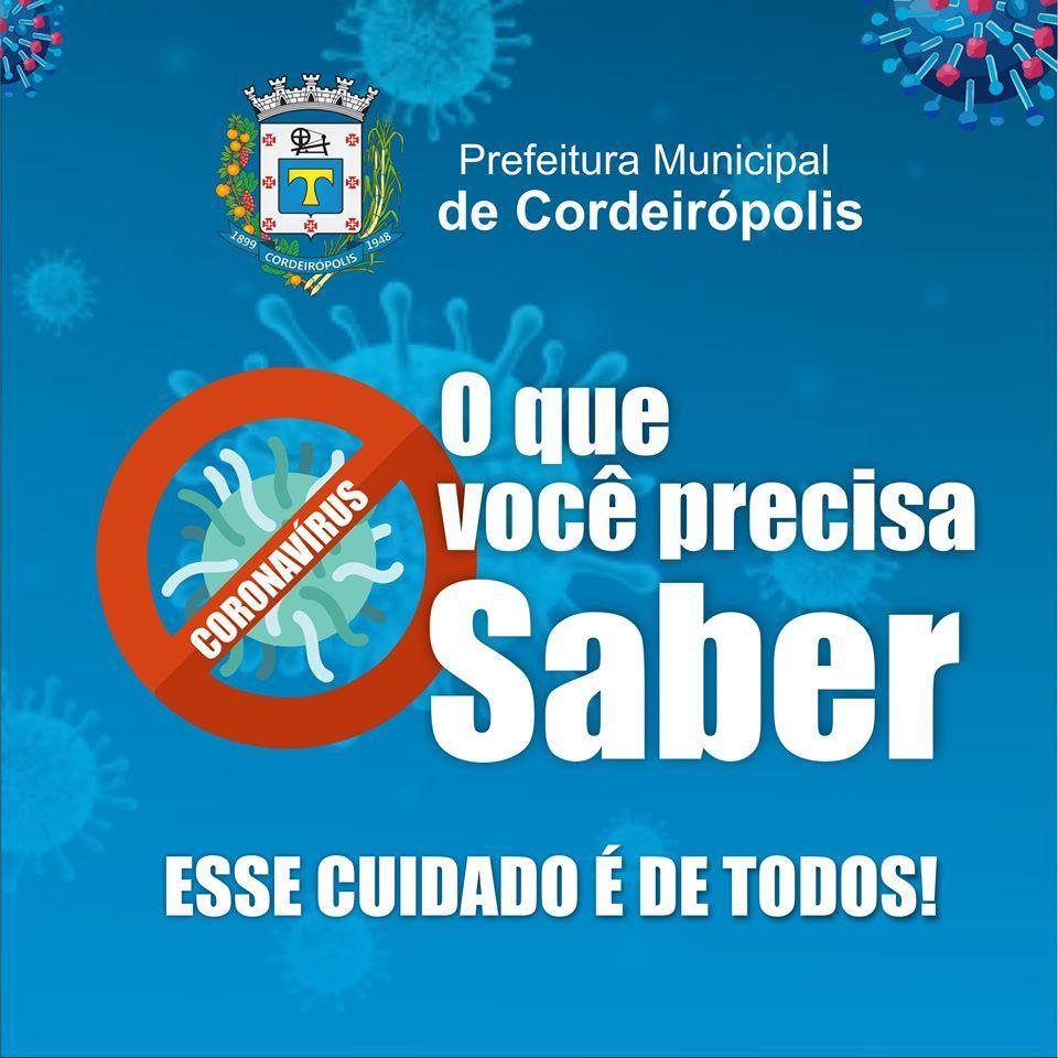#Coronavírus: A melhor proteção é a prevenção!