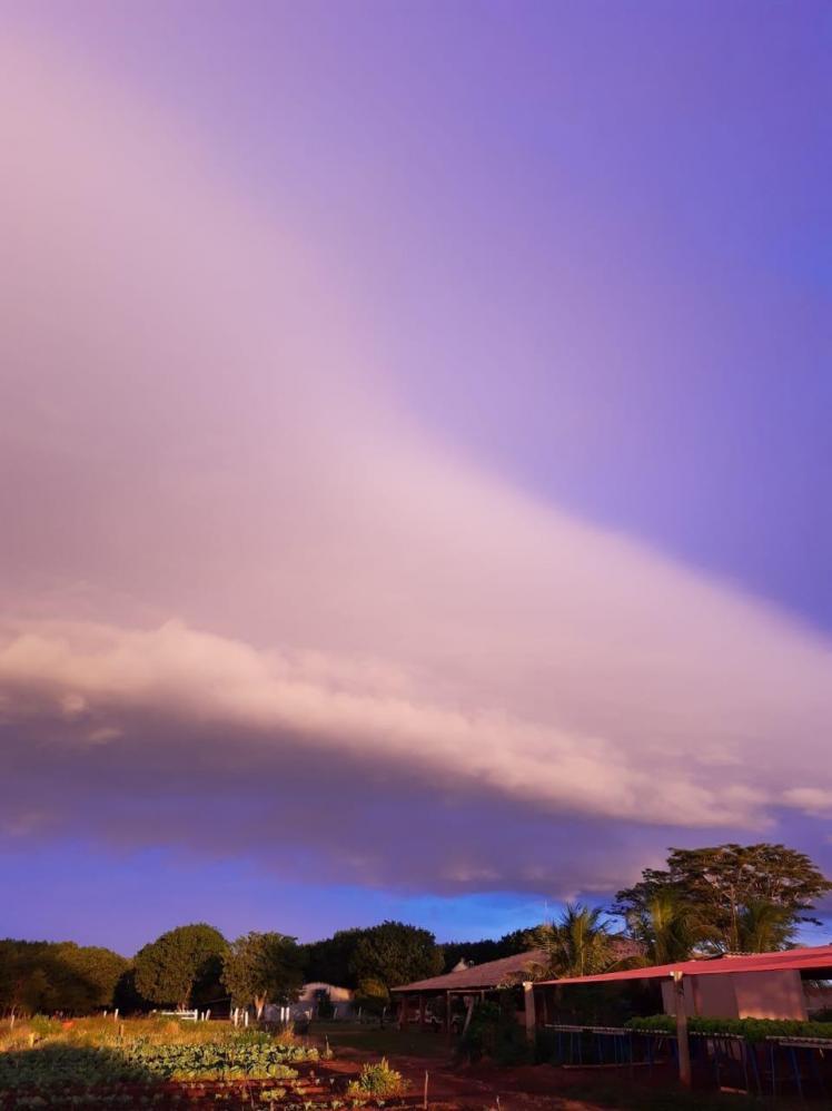Nuvem prateleira é observada no interior de SP
