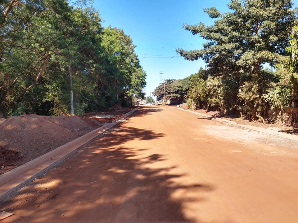 Acesso ao Bairro da Estação em Cordeirópolis recebe obras e pavimentação
