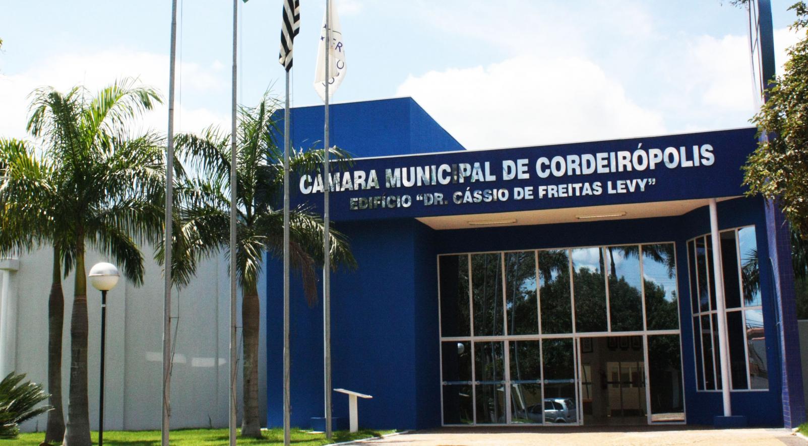 Câmara de Cordeirópolis não abrirá na segunda devido ao feriado antecipado