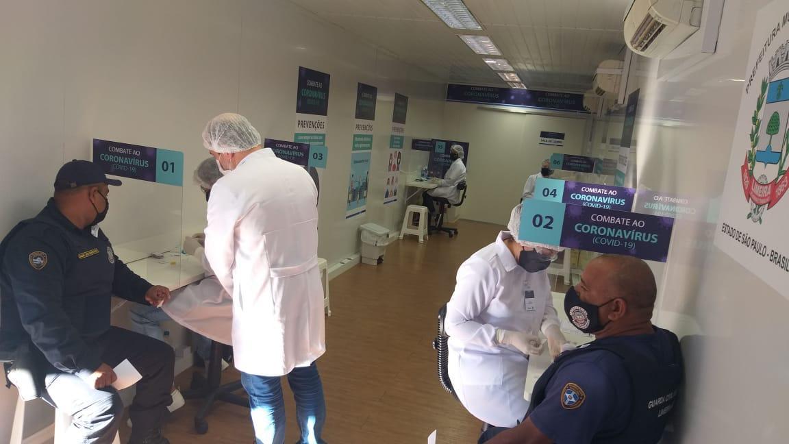 Secretaria de Saúde de Limeira realiza teste para coronavírus em GCMs