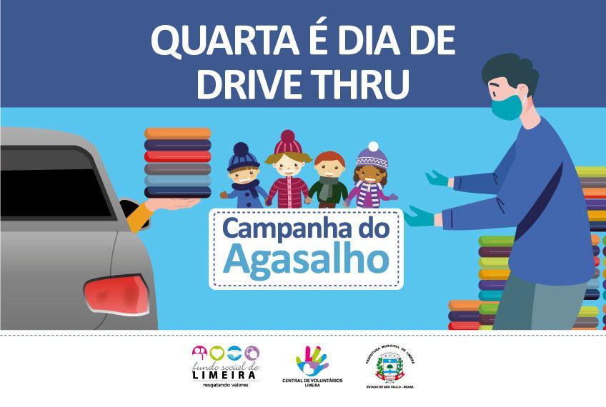 Primeiro drive-thru da Campanha do Agasalho acontece na Prefeitura de Limeira