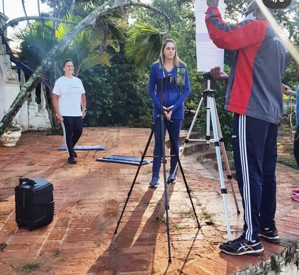Secretaria de Esporte e Lazer de Cordeirópolis promove aulas online durante a pandemia