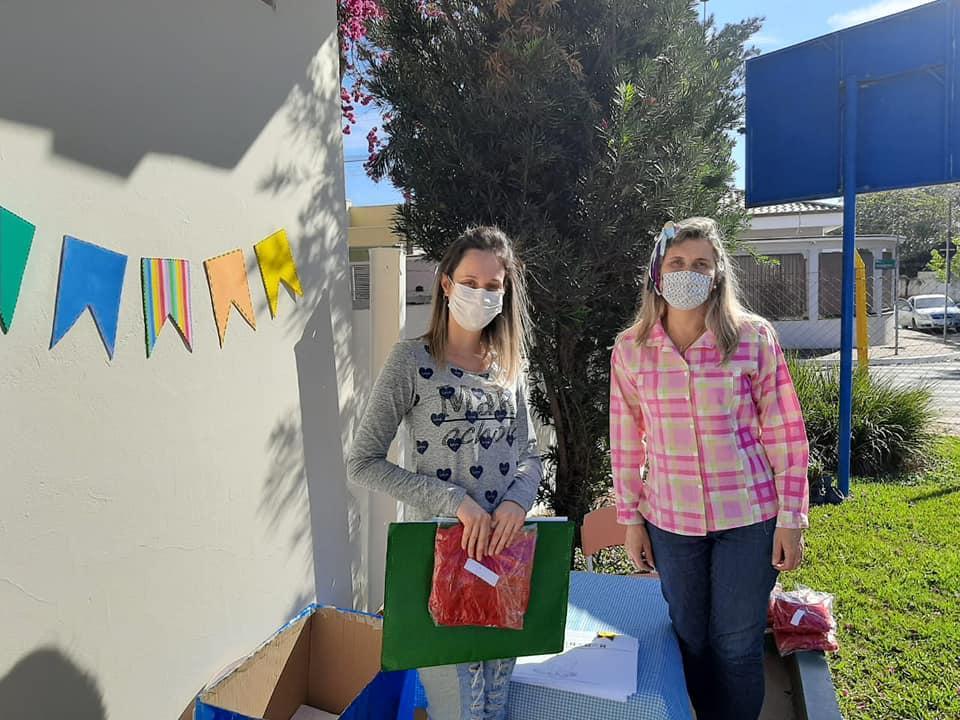 Alunos de Cordeirópolis recebem atividades escolares com temática de Festa Junina