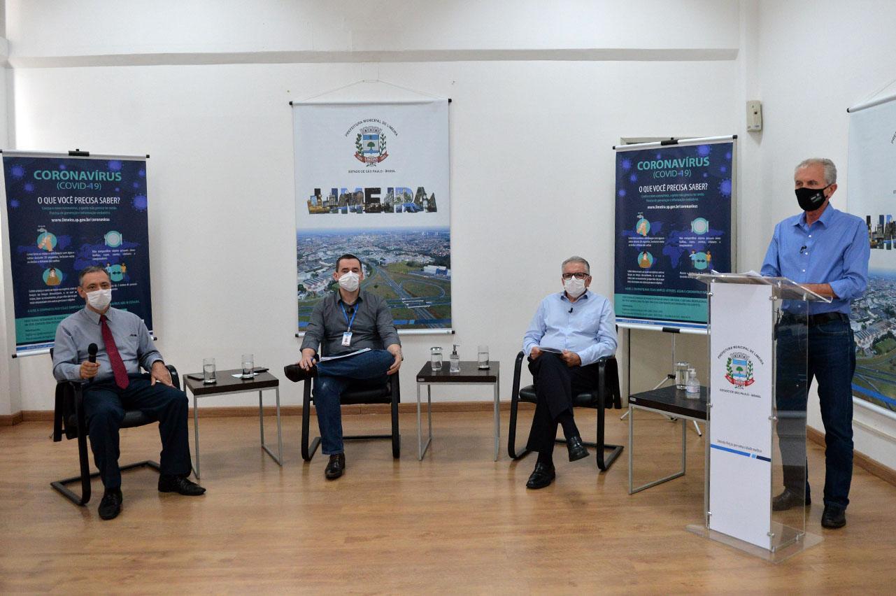 Limeira volta a fechar comércio após aumento de casos de coronavírus