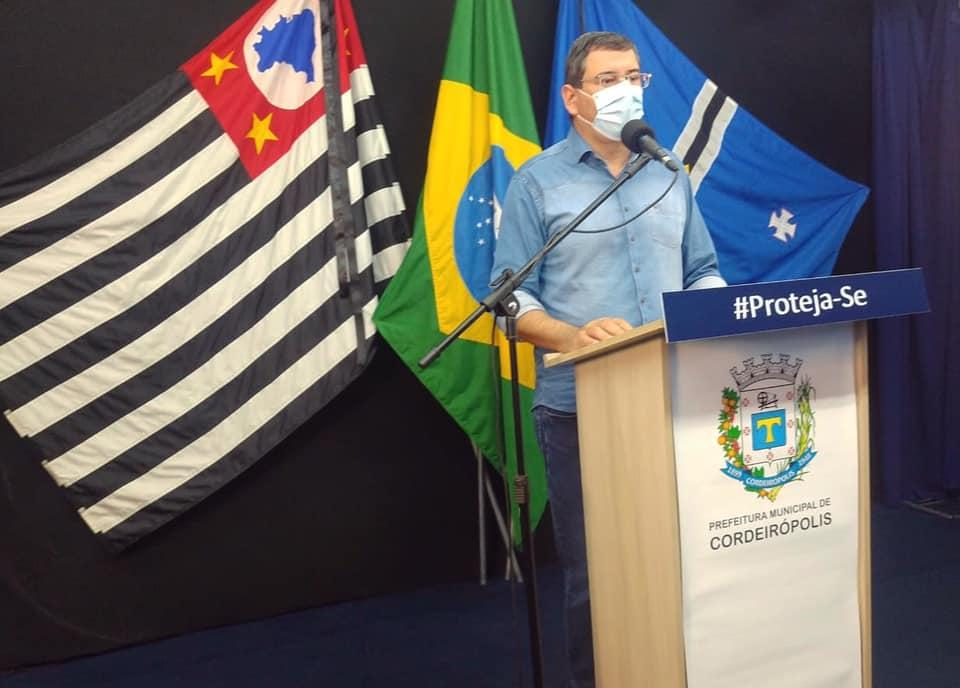 Prefeitura de Cordeirópolis fará testagem nos cuidadores de idosos na próxima semana