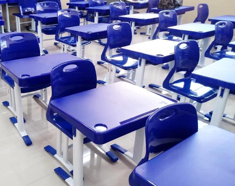 Educação adquire móveis novos para refeitórios e salas de aula das escolas