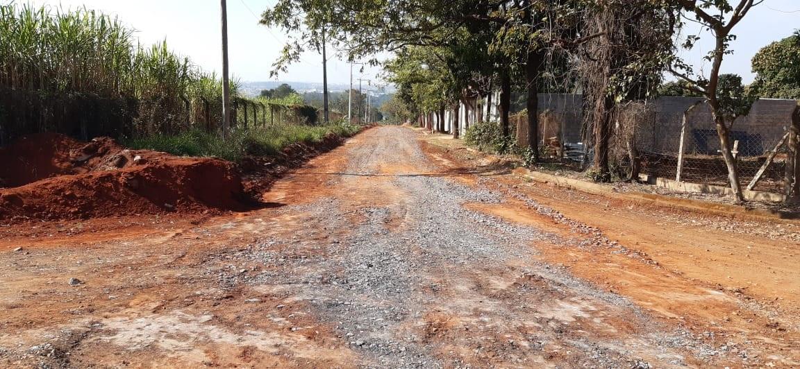 Prefeitura de Limeira realiza manutenção em estradas rurais