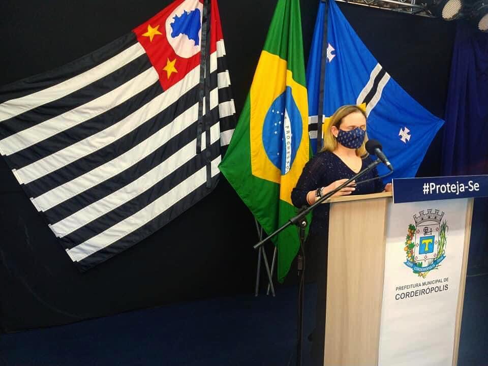 CORONAVÍRUS - Mais de 3% da população de Cordeirópolis já foi contaminada
