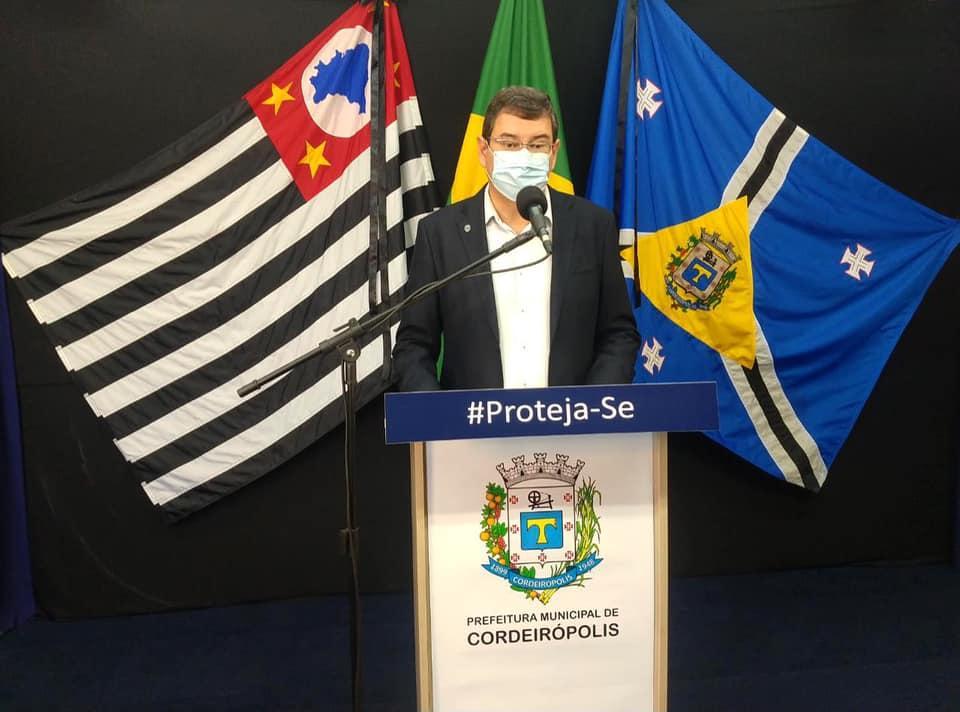 Prefeitura de Cordeirópolis terá ambulância exclusiva para atender pacientes com a covid-19