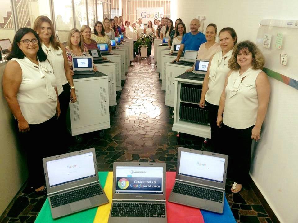 Em 3 anos, Google For Education transforma Educação de Cordeirópolis