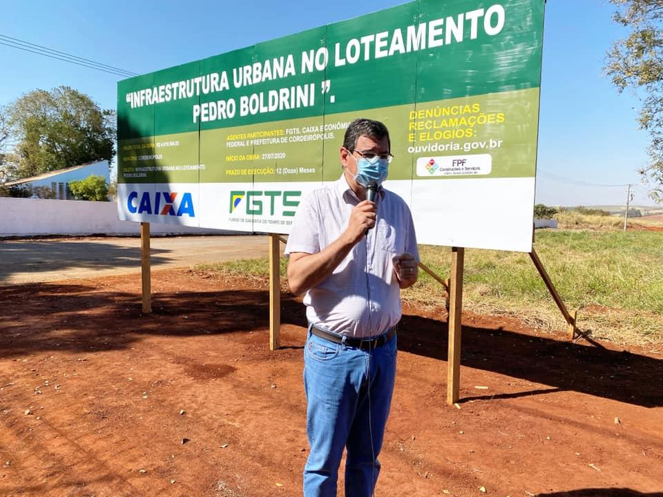 Prefeitura de Cordeirópolis inicia obras de infraestrutura no Distrito Industrial