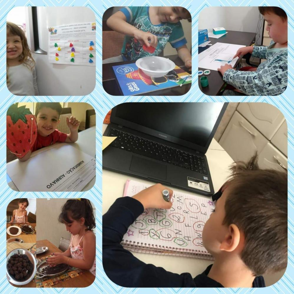 Alunos da Educação Municipal realizam atividades da Semana da Pátria em casa