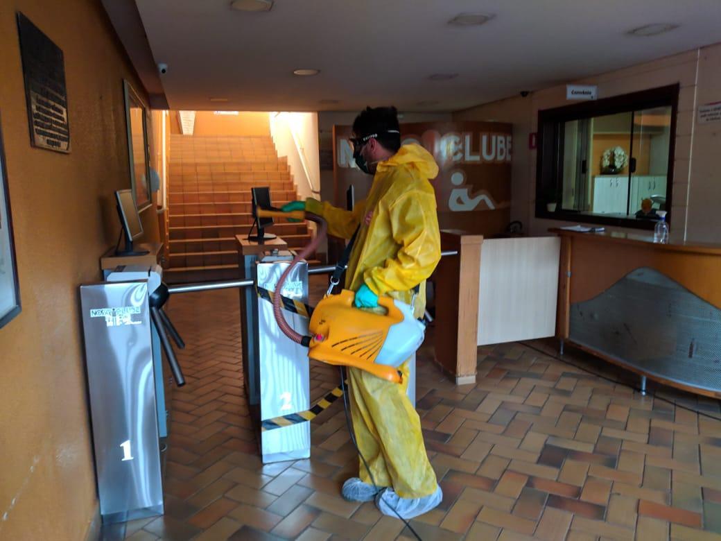 Nosso Clube firma parceria para elevar padrão de higienização e limpeza de suas dependências