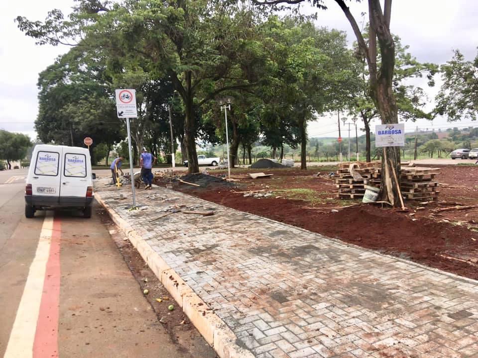 Praça da Vila Boteon, em Cordeirópolis, recebe reforma