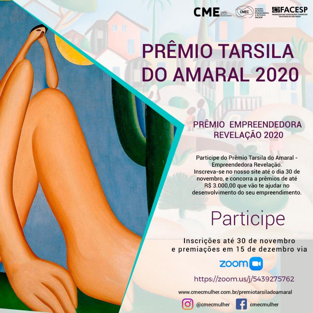 CME da ACIL apoia prêmio Tarsila do Amaral que contemplará empreendedoras