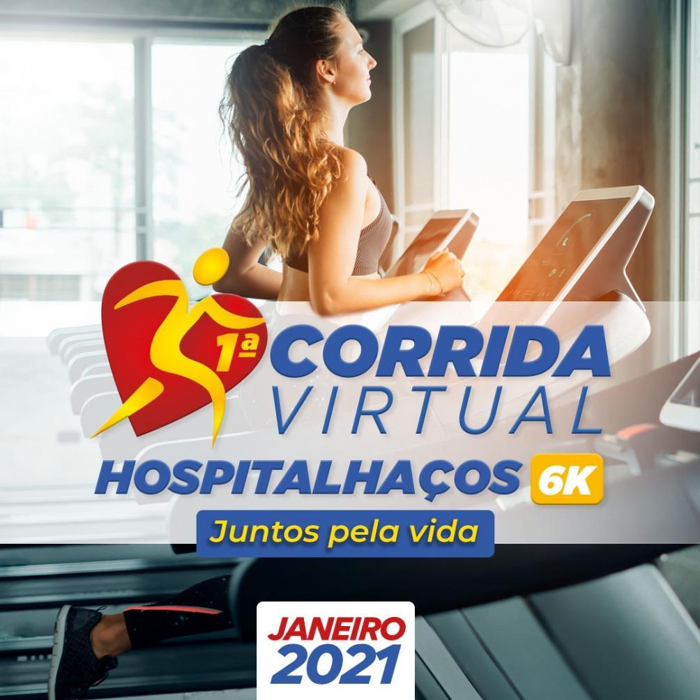"""Corrida e Caminhada Virtual """"Juntos Pela Vida"""" - Hospitalhaços"""