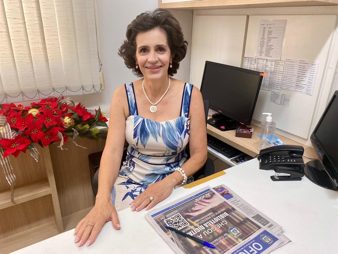 Conheça a Secretária da Mulher e Desenvolvimento Social de Cordeirópolis: Márcia Carron