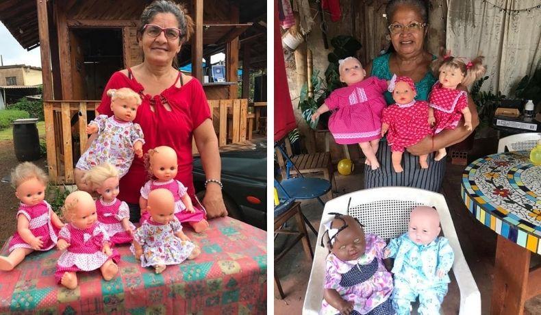 Mulheres de Cordeirópolis reformam bonecas do lixo e doam para crianças