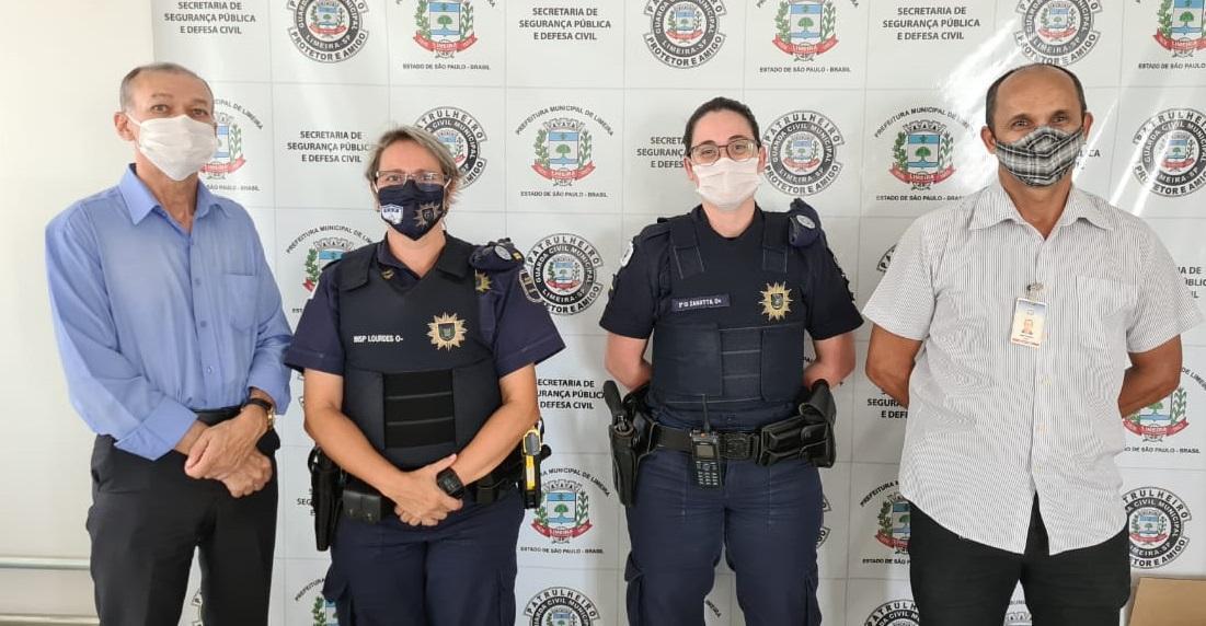 GCM de Limeira recebe visita da Guarda Municipal de Campinas
