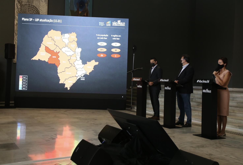 Estado põe região de Marília na fase vermelha e outras 10 na etapa laranja do Plano SP